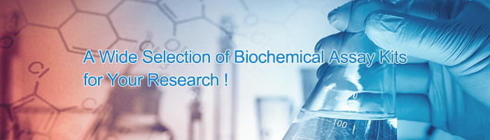a wide selection of biochemical assay kits for your research !