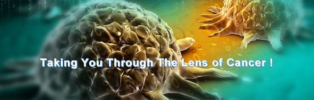 taking you through the lens of cancer !
