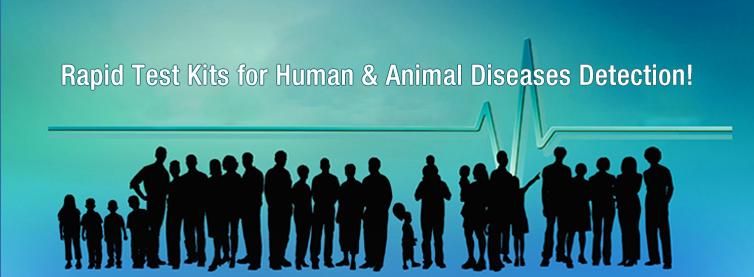 high quality products for huuman & animal diseases detection